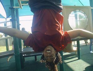 Tiffani just hangin' around