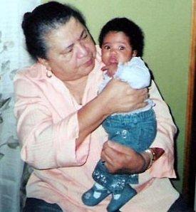 Grandma and Jasmine 11/05