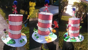 Cat In The Hat Project for Dr. Suess's Birthday